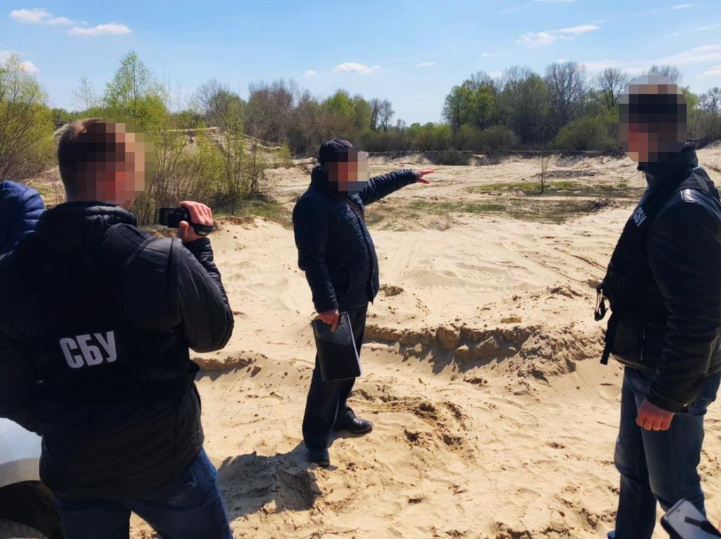 СБУ заблокувала незаконну реалізацію корисних копалин на Черкащині