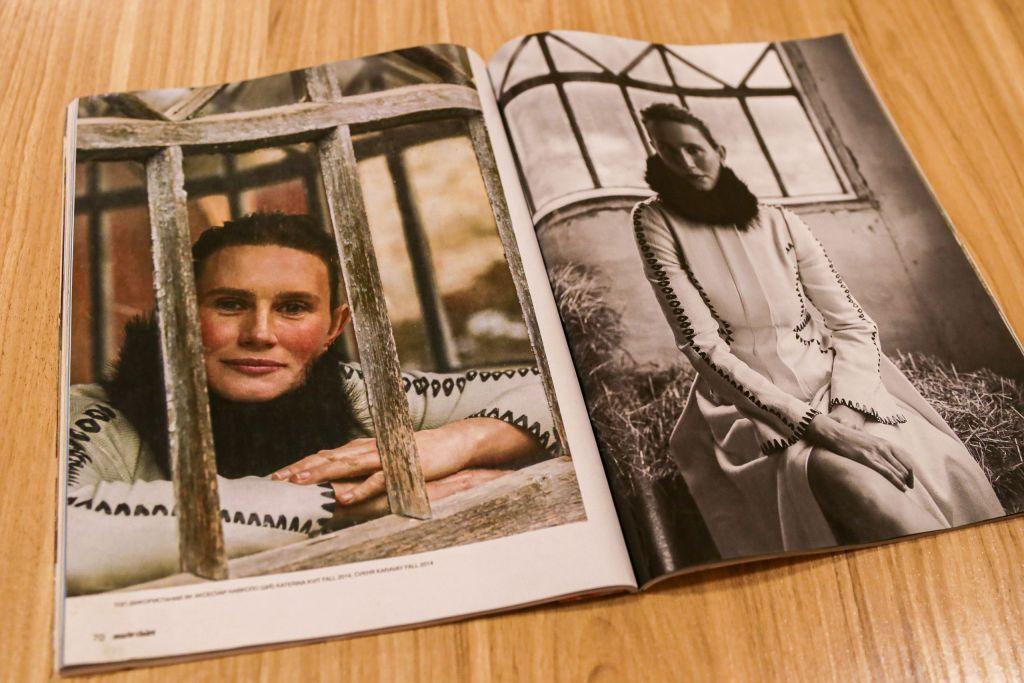Продавчиня із села на Черкащині стала обличчям відомого глянцевого журналу (ФОТО)