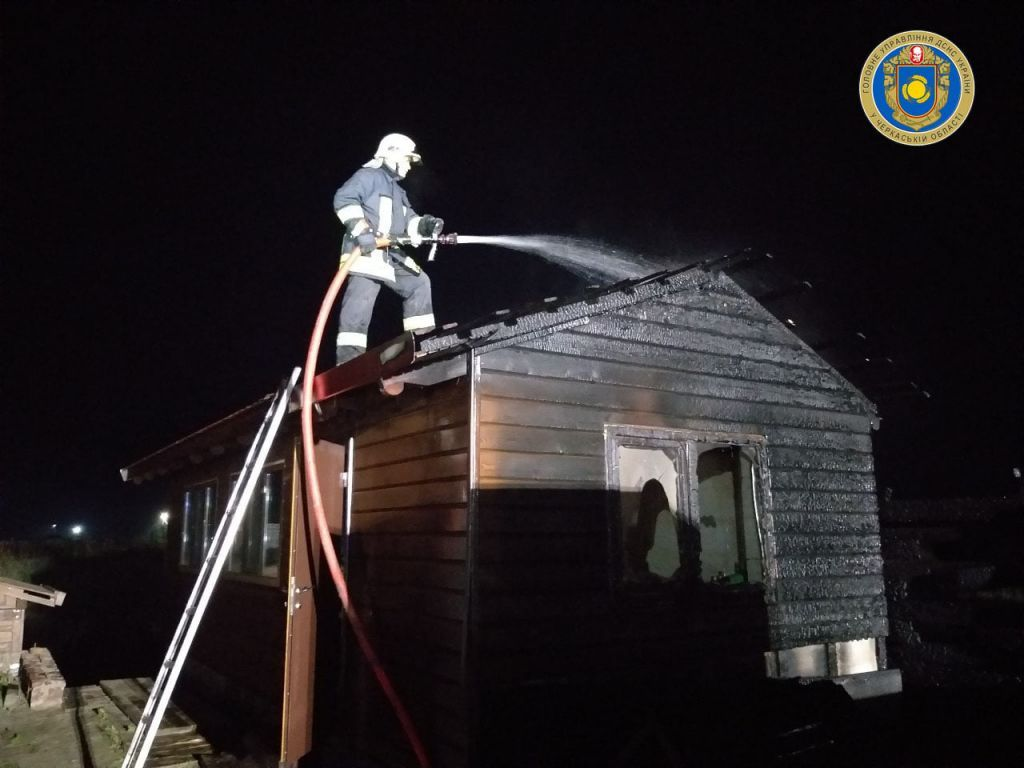 На Золотоніщині невідомі підпалили дачний будинок