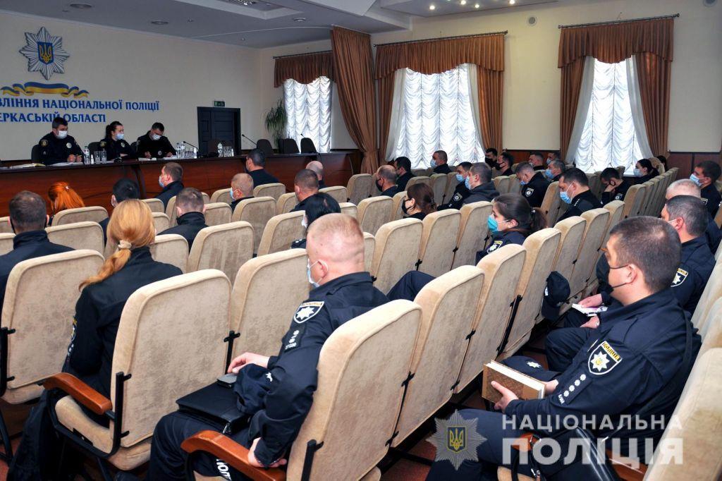 Поліціянти Черкащини провели навчання щодо протидії домашнього насильства