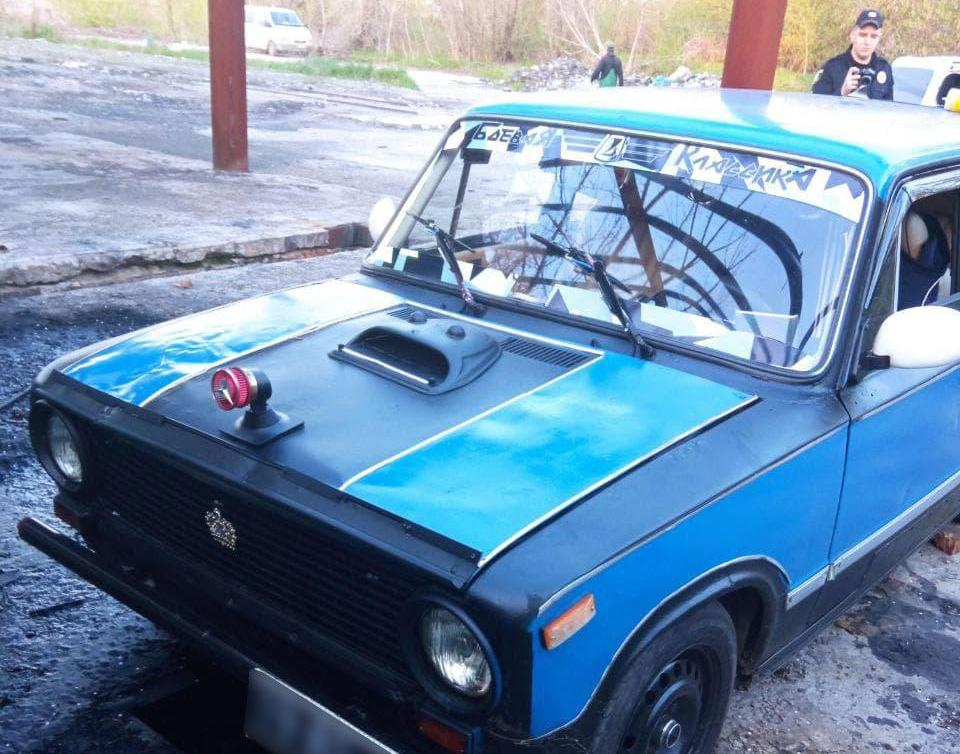 Поліцейські Черкащини розшукали авто з грабіжником