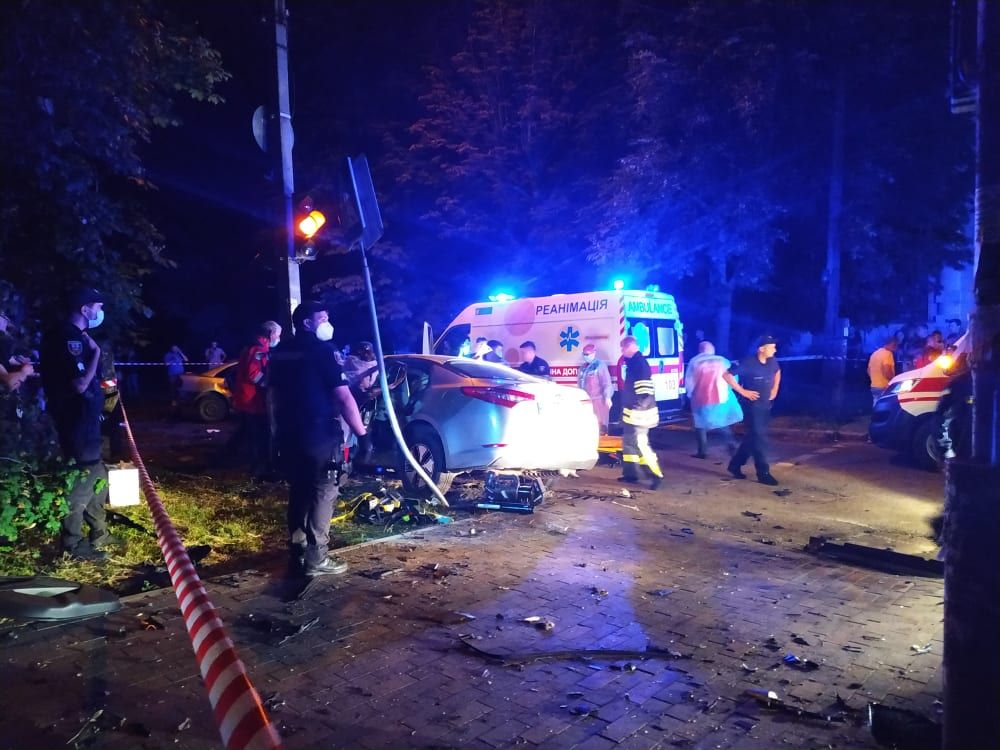 Водій, через якого в аварії загинуло троє черкащан – у реанімації