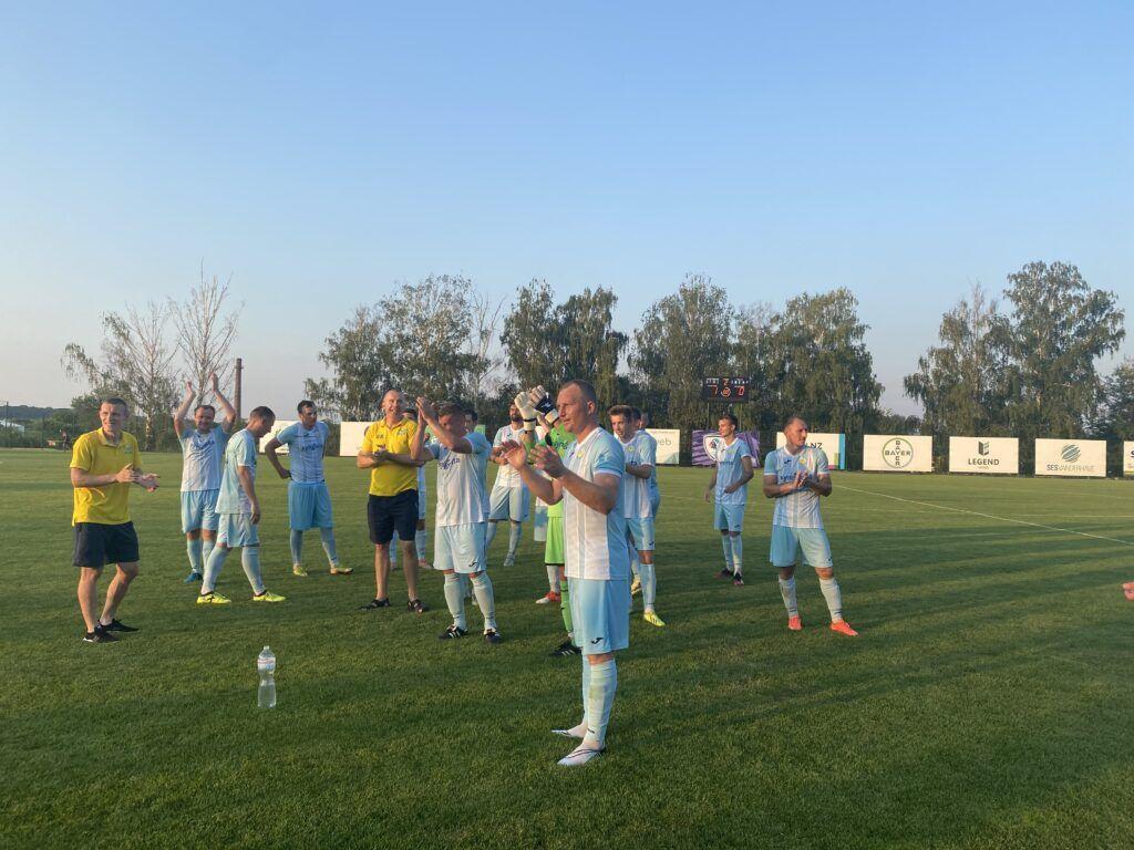 Уманський «Базис» – володар Кубку області з футболу