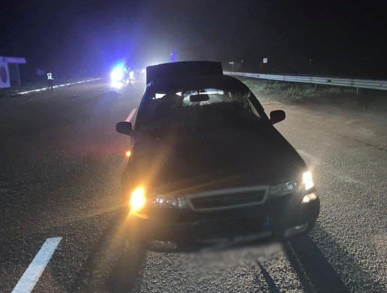 На Уманщині автомобіль насмерть збив пішохода