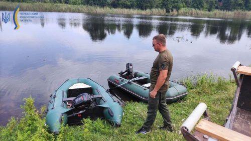 На Черкащині в Росі загинуло понад пів тисячі рибин