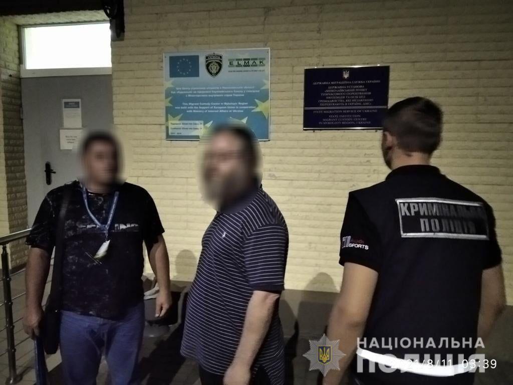 В Умані затримали іноземця, який незаконно перебував в Україні та дебоширив на території синагоги