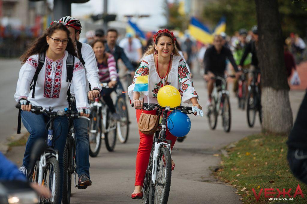 На Черкащині відбудеться велопарад вишиванок