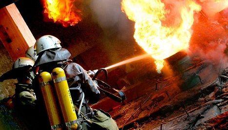 На Черкащині згоріла покрівля будинку та пів тонни сіна