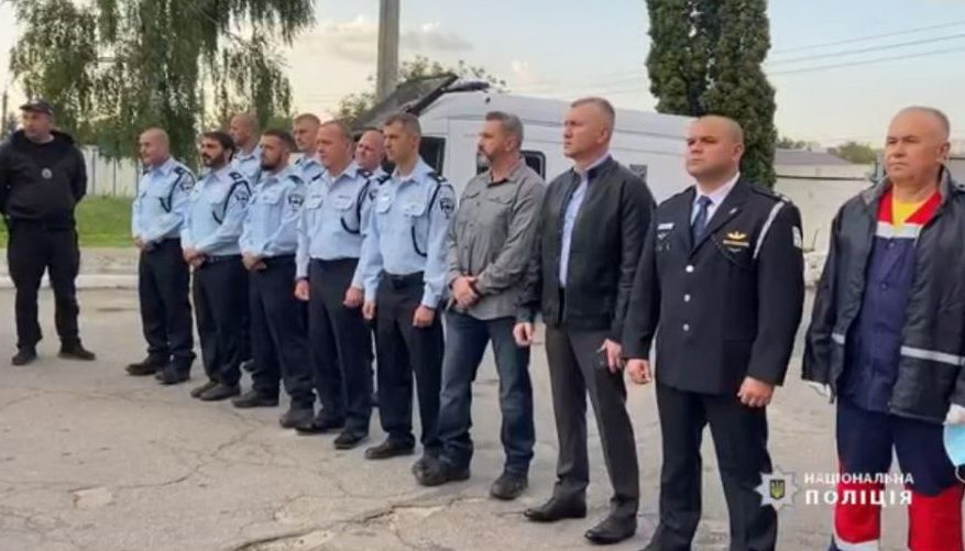 Ізраїльські поліцейські, які допомагатимуть українським правоохоронцям, прибули до Умані (ВІДЕО)